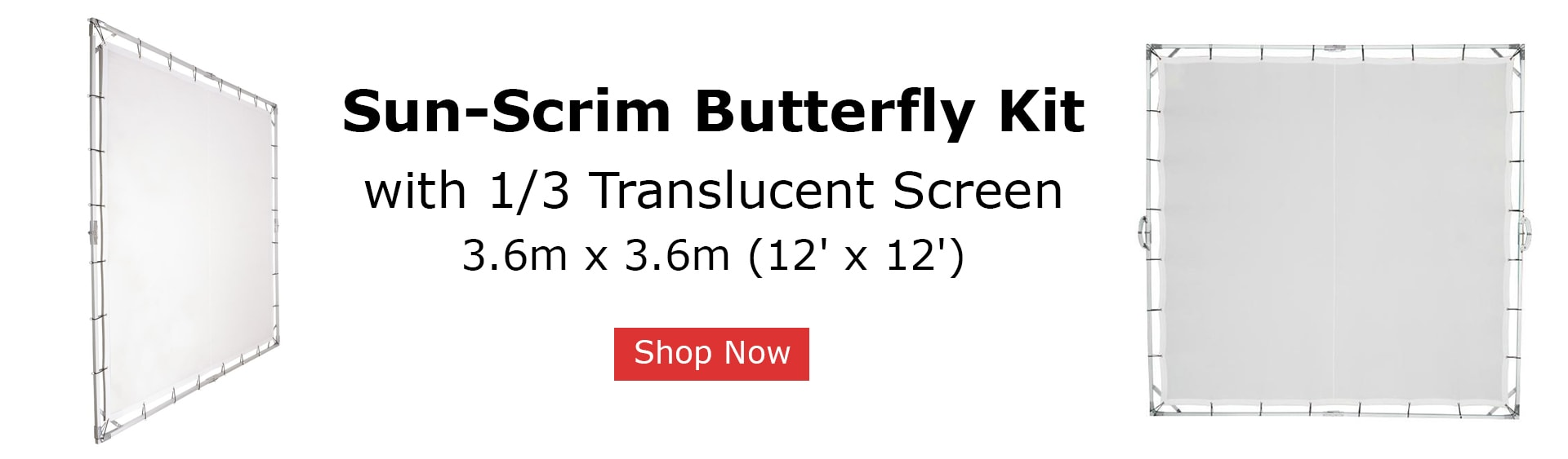 Sun Scrim Butterfly Kit Slide